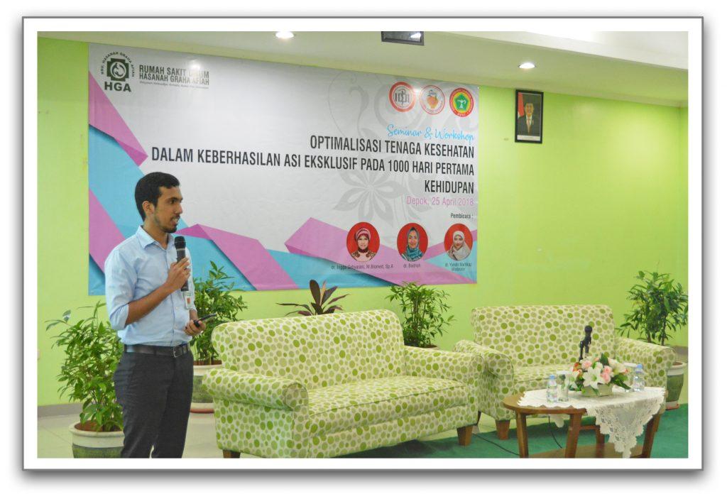 Saggaf Salim S Alatas, SE (Perwakilan Manajemen RSU-HGA)