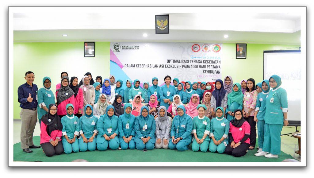 Perawat beserta Dokter RSU HGA dan Para Tamu Undangan