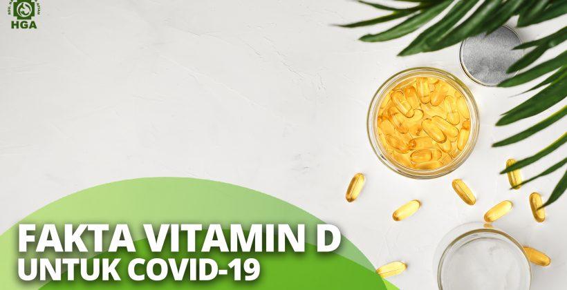 Fakta Vitamin D untuk Covid-19